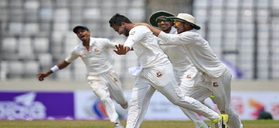 Shakib Al Hasan created history when he became the quickest to reach the double of 3000 runs and 200 wickets in Tests. (Image credit: Twitter)