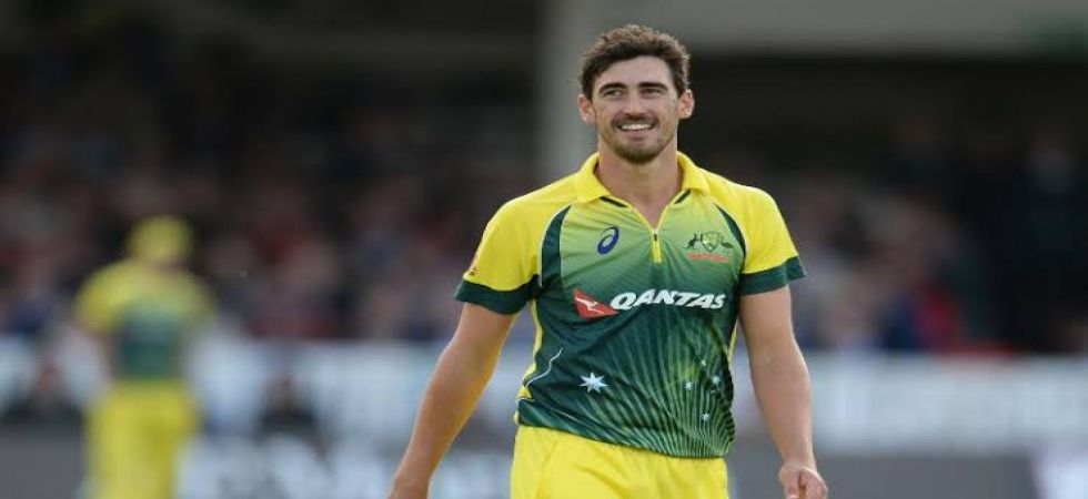 Mitchell Starc returned to the Australian cricket team in Twenty20 Internationals after two years. (Image source: Twitter)