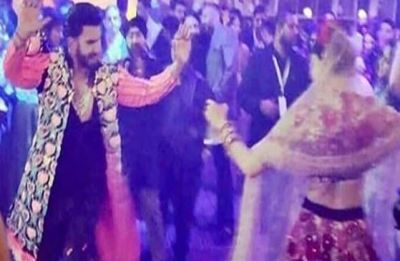 Ranveer Singh and Deepika Padukone dance their way to each other's hearts, watch video