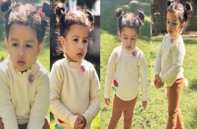 Cuteness alert: Ziva Dhoni greets in two different languages, watch video