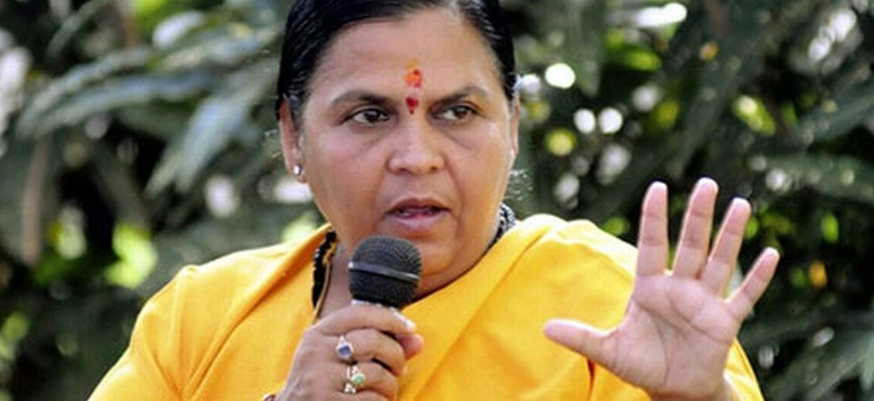 Uma Bharti made an appeal to the opposition parties, including the Samajwadi Party (SP), Bahujan Samaj Party (BSP), Akali Dal, AIMIM to