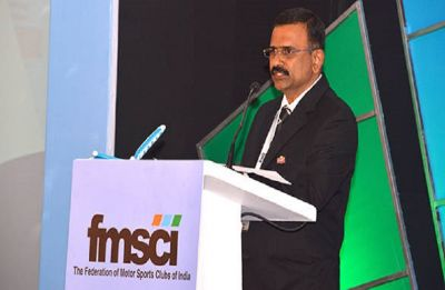 Prithiviraj takes charge as the Federation of Motor Sports Clubs of India's president