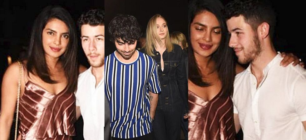 Priyanka Chopra and Nick Jonas drink to a final 'singles' bash!/ Image: Instagram