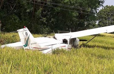 Telangana: Trainee aircraft crashes at Bahupeta in Yadadri Bhuvanagiri district