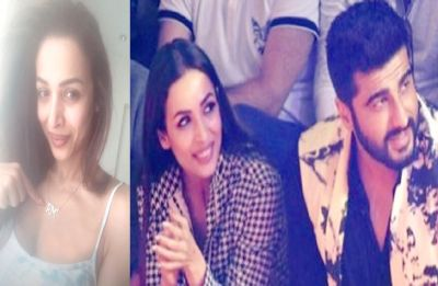 Malaika Arora wore a pendant with Arjun Kapoor's name on it dropping a hint again!