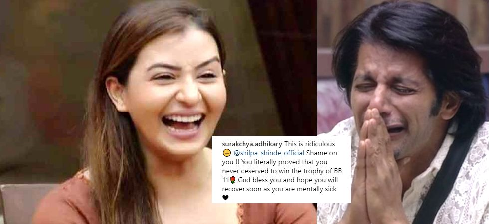 Shilpa Shinde mocks Bigg Boss 12 contestant Karanvir Bohra's wife Teejay Sidhu/ Image: Colors TV