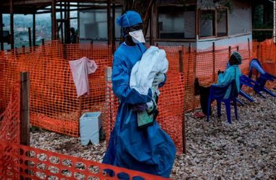 Ebola outbreak in Congo now 2nd largest in history: WHO