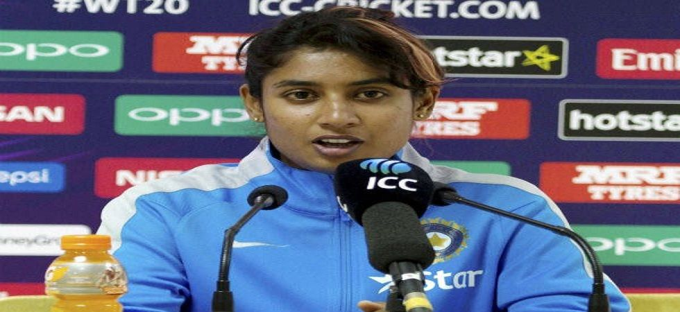 Mithali Raj was axed from the Indian team for the semi-final against England in the ICC Women's World T20. (Image credit: Twitter)