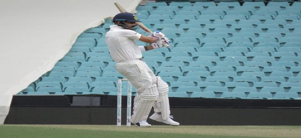 Virat Kohli smashed 692 runs at an average of 86.5 in the last series against Australia which India lost 0-2. (Image source: Twitter)