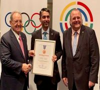 Abhinav Bindra, India's only individual gold medal winner, conferred with shooting's highest honour by ISSF
