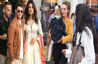 Nickyanka wedding: Elizabeth Chambers arrives at Jodhpur airport ahead of ceremony