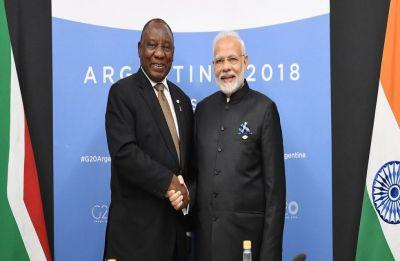 South African Prez Cyril Ramaphosa accepts PM Modi's invitation to Republic Day celebrations 2019