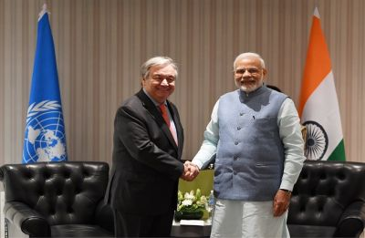 India to support Paris Climate Change Agreement, assures PM Modi to UN chief