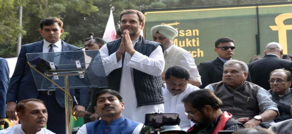 Modi wants to create two India - one for rich, other for poor, says Rahul Gandhi (Photo Source: PTI)