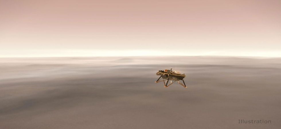 InSight was designed to operate on the Martian surface with an inclination up to 15 degrees (Image: Twitter)