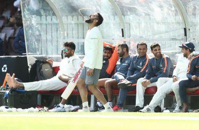 Virat Kohli's wicket celebration against Cricket Australia XI takes internet by storm