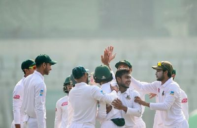 Bangladesh create history, secure first-ever innings win to sweep series against West Indies