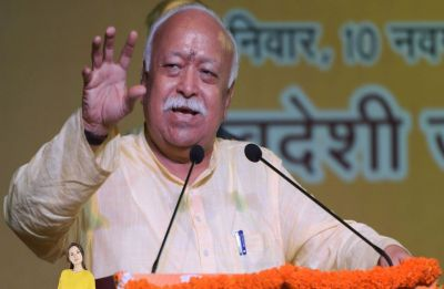 RSS flags off nine-day-long 'Sankalp Rath Yatra' for early construction of Ram Temple
