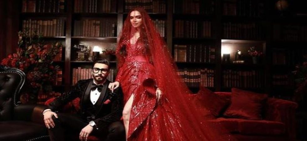 Many celebrated personalities from B-town and elsewhere graced DeepVeer reception (Instagrammed photo)