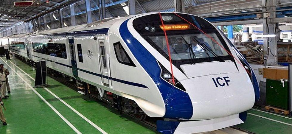 Train 18, India's first locomotive-less train. (PTI/file)