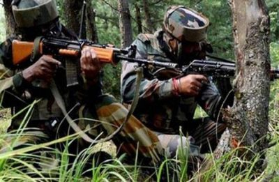 Jammu and Kashmir: 2 terrorists trapped in encounter with security forces in Shopian