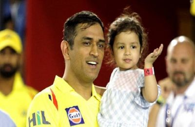 MS Dhoni hones his dancing skills with daughter Ziva, video breaks the internet