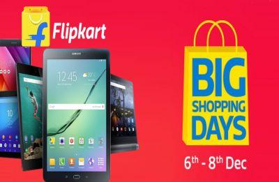 Flipkart's 'Big Shopping Days' begins from December 6, get best deals here