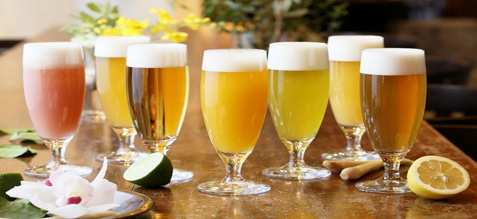 There are several types of fruit beer in the world and the benefits of drinking fruit beer are many (File Photo)