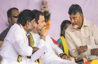 Telangana: Rahul Gandhi to hold roadshow with TDP chief Chandrababu Naidu today