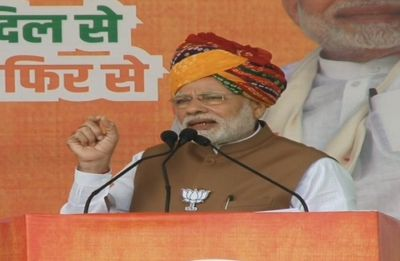 PM Narendra Modi: Kartarpur in Pakistan today because of then Congress leaders' lack of vision