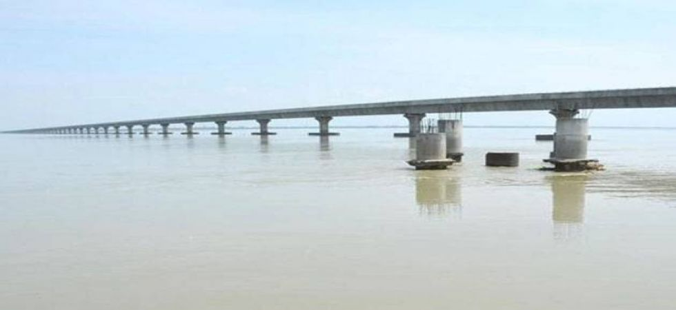 Bogibeel is the fourth rail-road bridge on the Brahmaputra river in Assam. (File photo)