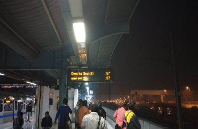 Delhi Metro's Blue Line services develop another technical snag, passengers stranded