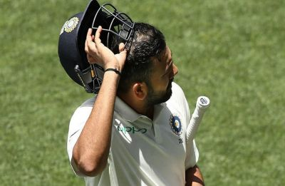 Rohit Sharma throws his wicket away in Adelaide Test and Twitter goes on a bashing spree