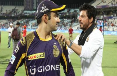 Shah Rukh Khan shares a special message for his former captain Gautam Gambhir