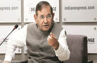 Sharad Yadav sparks off controversy, says give Vasundhara Raje some rest as she has become fat