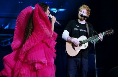 Ed Sheeran has the best response to angry comments over dressing less during duet with Beyoncé