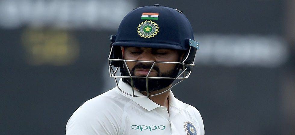 Virat Kohli has not scored a run against Pat Cummins and has fallen to him twice. (Image credit: Twitter)