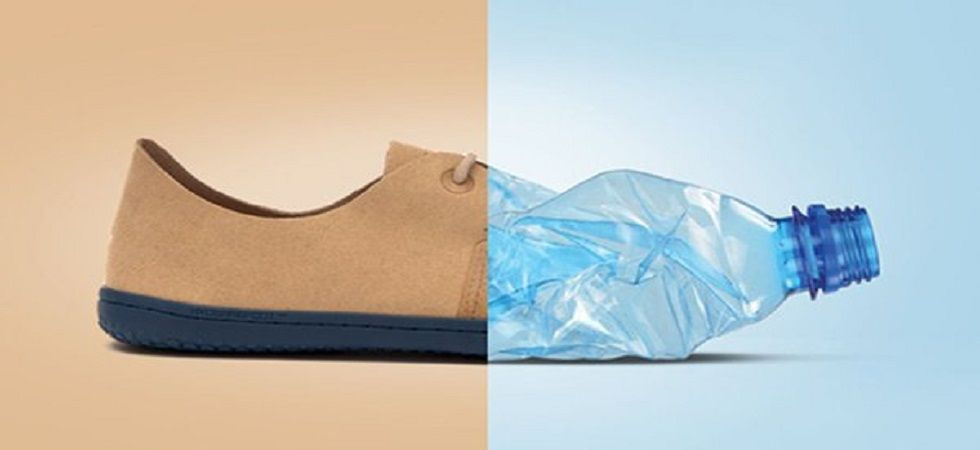 This footwear turns ocean trash into shoes (Photo: Twitter)