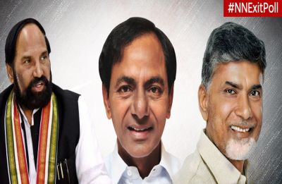 Telangana Exit Poll 2018: Hung Assembly projected, KCR-led TRS in close fight with Congress-TDP alliance