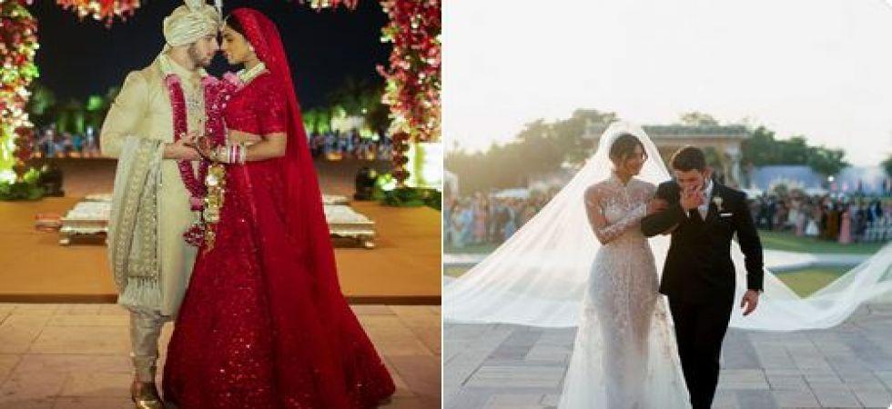 Priyanka Chopras Red Lehenga Sabyasachi Reveals Peecees Personal