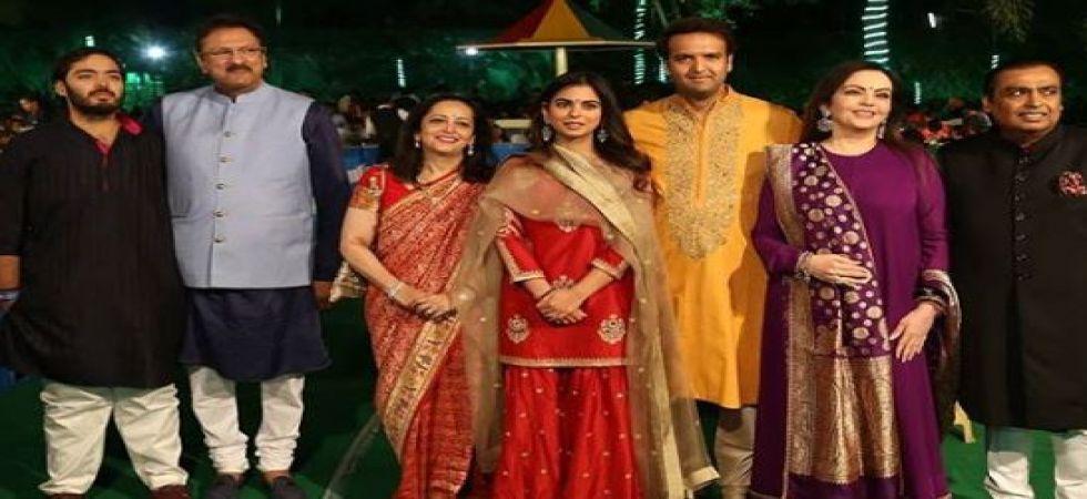 Isha Ambani-Anand Parimal pre-wedding festivities kick starts, celebrities arrive in Udaipur (Instagrammed photo)