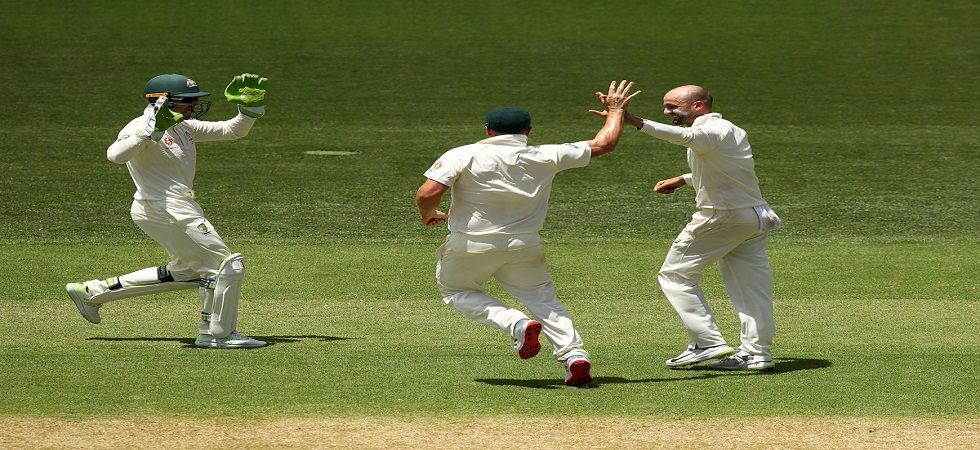 Nathan Lyon has dismissed Virat Kohli the most number of times in Tests. (Image credit: Twitter)