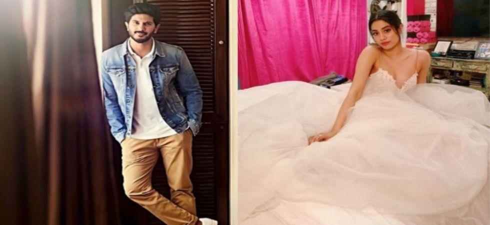 Janhvi Kapoor to romance Dulquer Salman in Karan Johar's next biopic Gunjan Saxena