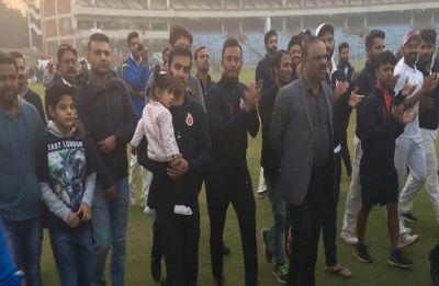 Gautam Gambhir farewell – When tension was dispelled by chants of 'Gauti, Gauti'