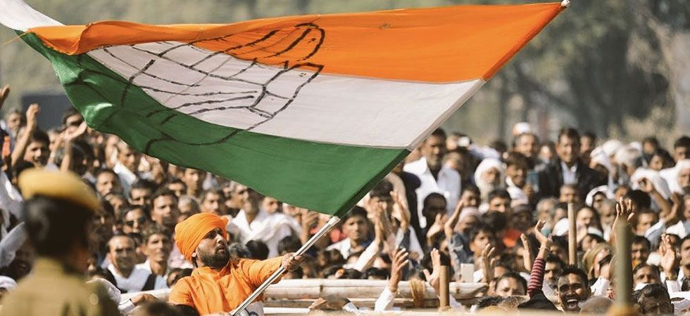 Congress is looking to make a comeback in Chhattisgarh, Rajasthan and Madhya Pradesh. (File photo)