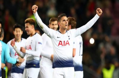 Tottenham come back from brink to qualify for last 16 of UEFA Champions League after Inter Milan draw