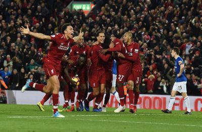 Liverpool beat Napoli to enter last 16 of UEFA Champions League, Paris Saint-Germain also qualify