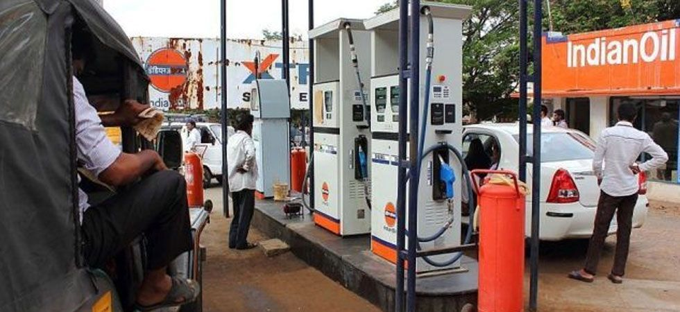 Petrol price had touched a record high of Rs 84 per litre in Delhi and Rs 91.34 in Mumbai on October 4.  (File photo)