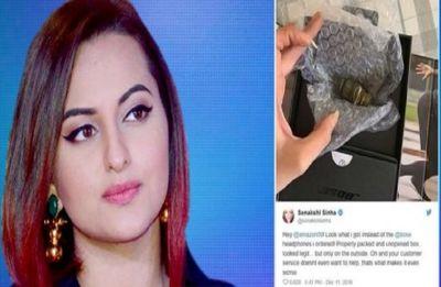 Sonakshi Sinha orders headphones online, gets iron piece instead