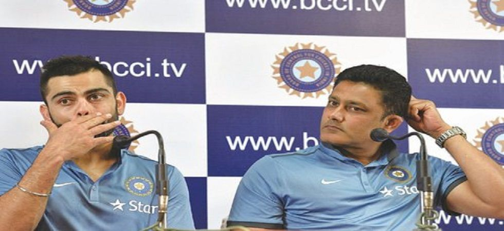 Anil Kumble's feud with Virat Kohli resulted in his exit as the coach of the Indian cricket team. (Image credit: Twitter)